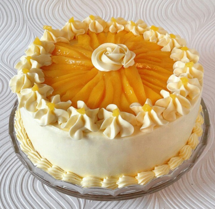 Images For Mango Cake : mango cream cake recipe filipino